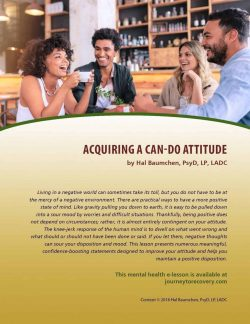 Acquiring a Can-Do Attitude (MH Lesson)