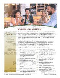 Acquiring a Can-Do Attitude (MH Lesson)