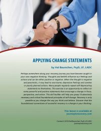 Applying Change Statements (COD Lesson)