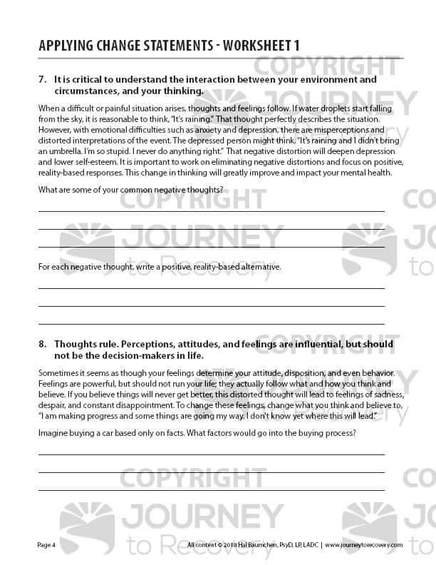 Applying Change Statements Worksheet 1 Cod Journey