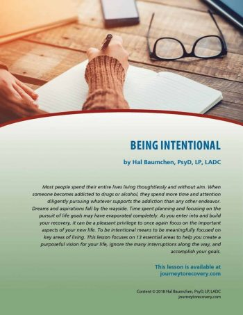 Being Intentional (COD Lesson)
