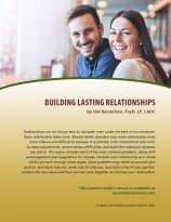 Building Lasting Relationships (MH Lesson)