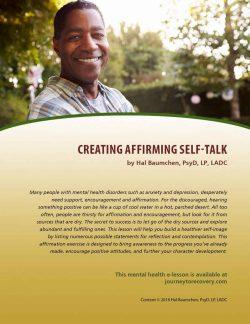 Creating Affirming Self-Talk (MH Lesson)