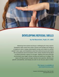 Developing Refusal Skills (COD Lesson)