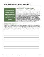 Developing Refusal Skills – Worksheet 1 (COD)