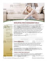 Developing Stress Management Skills (MH Lesson)