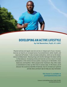Developing an Active Lifestyle (COD Lesson)