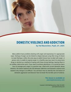 Domestic Violence and Addiction (COD Lesson)