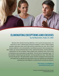 Eliminating Exceptions and Excuses (COD Lesson)