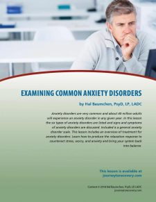 Examining Common Anxiety Disorders (COD Lesson)