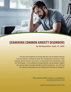 Examining Common Anxiety Disorders (MH Lesson)