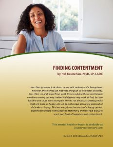 Finding Contentment (MH Lesson)