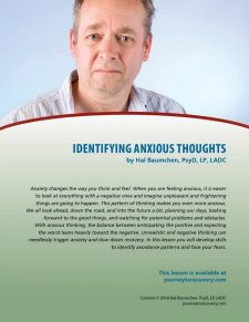 Identifying Anxious Thoughts (COD Lesson)