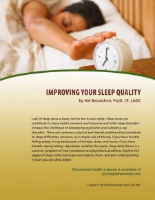 Improving Your Sleep Quality (MH Lesson)