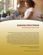 Managing Perfectionism (MH Lesson)