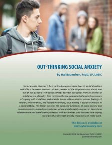 Out-Thinking Social Anxiety (COD Lesson)