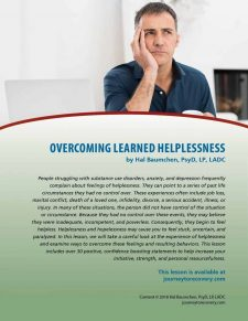 Overcoming Learned Helplessness (COD Lesson)