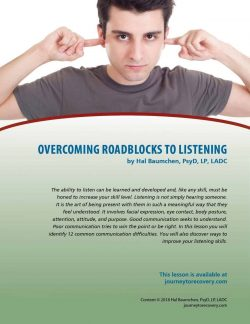 Overcoming Roadblocks to Listening (COD Lesson)