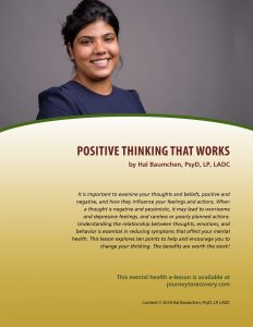 Positive Thinking that Works (MH Lesson)
