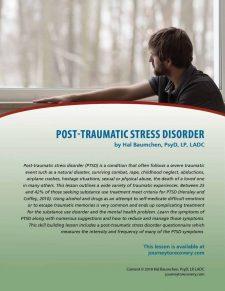 Post-Traumatic Stress Disorder (COD Lesson)