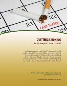 Quitting Smoking (MH Lesson)