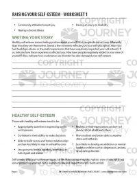Raising Your Self-Esteem – Worksheet 1 (COD)