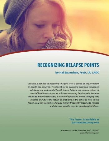 Recognizing Relapse Points (COD Lesson)