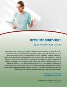 Rewriting Your Script (COD Lesson)