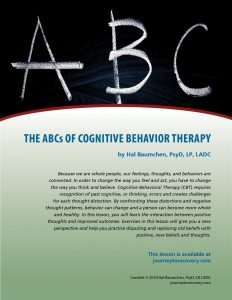 The ABCs of Cognitive Behavioral Therapy (COD Lesson)