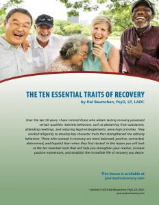 The Ten Essential Traits of Recovery (COD Lesson)