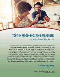 Top Ten Mood-Boosting Strategies (COD Lesson)