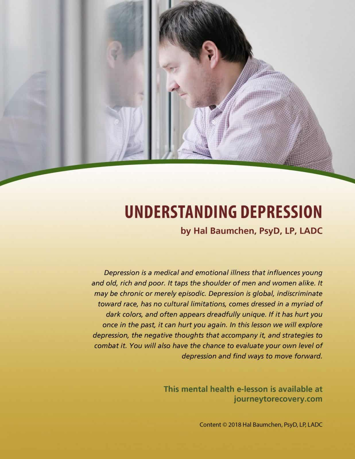 Understanding Depression (MH Lesson)