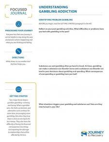 Understanding Gambling Addictions (COD Focused Journal)