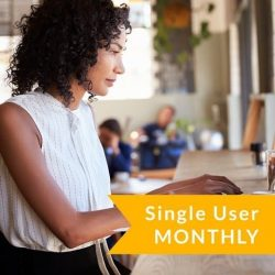 Single User Subscription (Monthly – With 2 Week Free Trial)