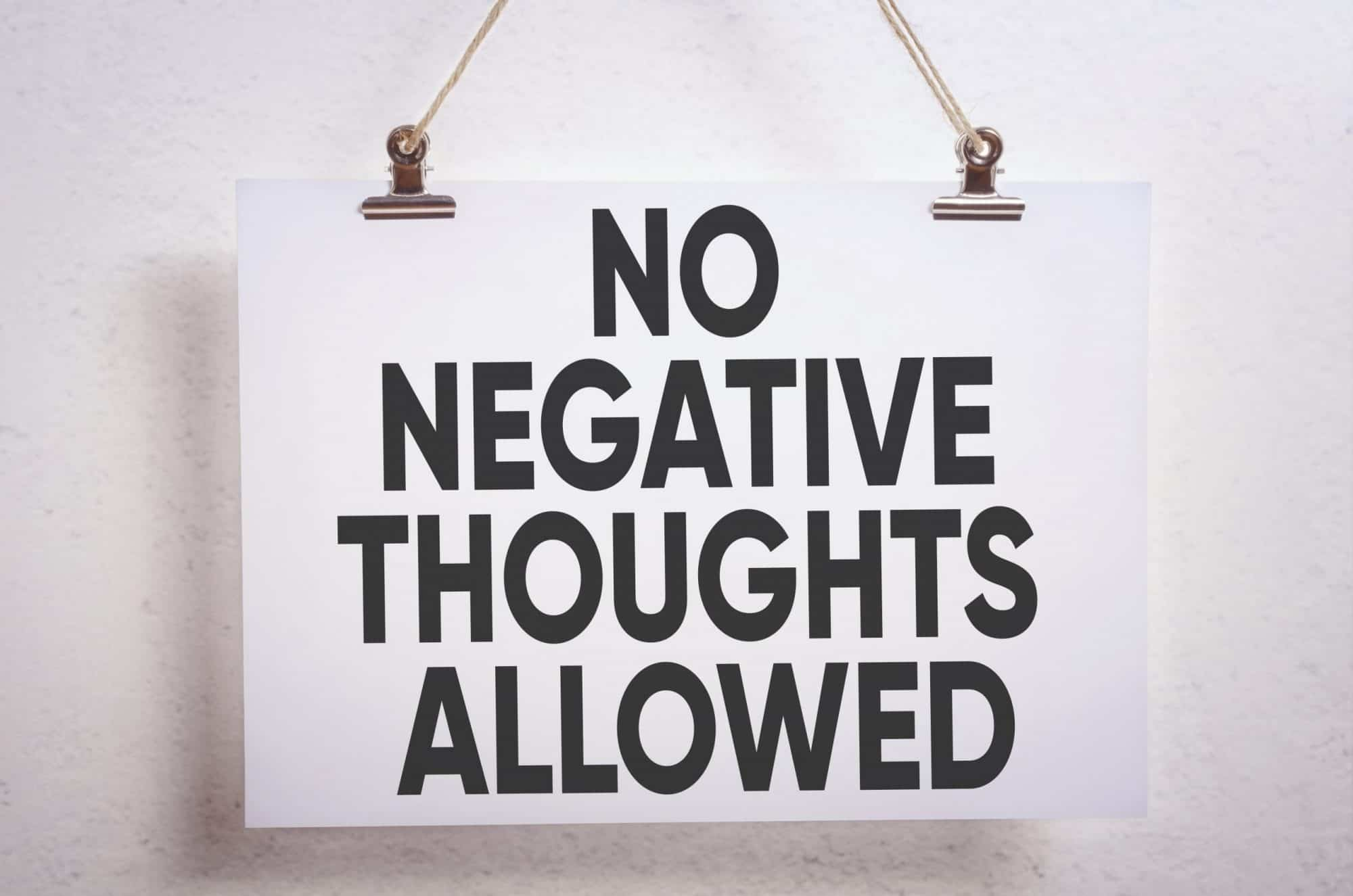 Insight for the Journey: The Lie Behind All Negative Thinking